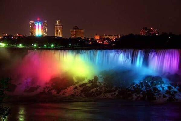 Rainbow Niagra Falls