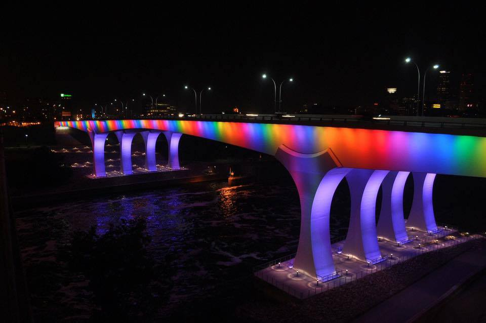 rainbow marriage bridge