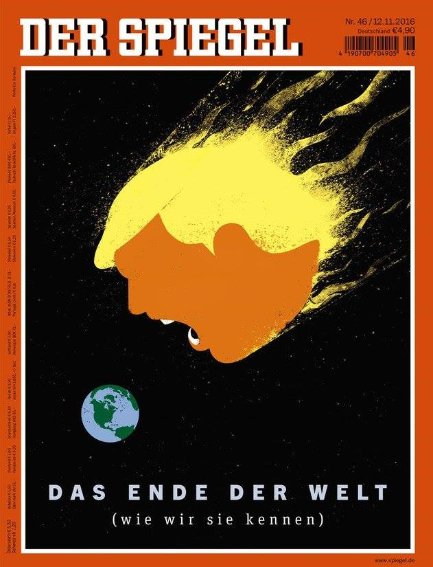 der spiegel trump asteroid earth